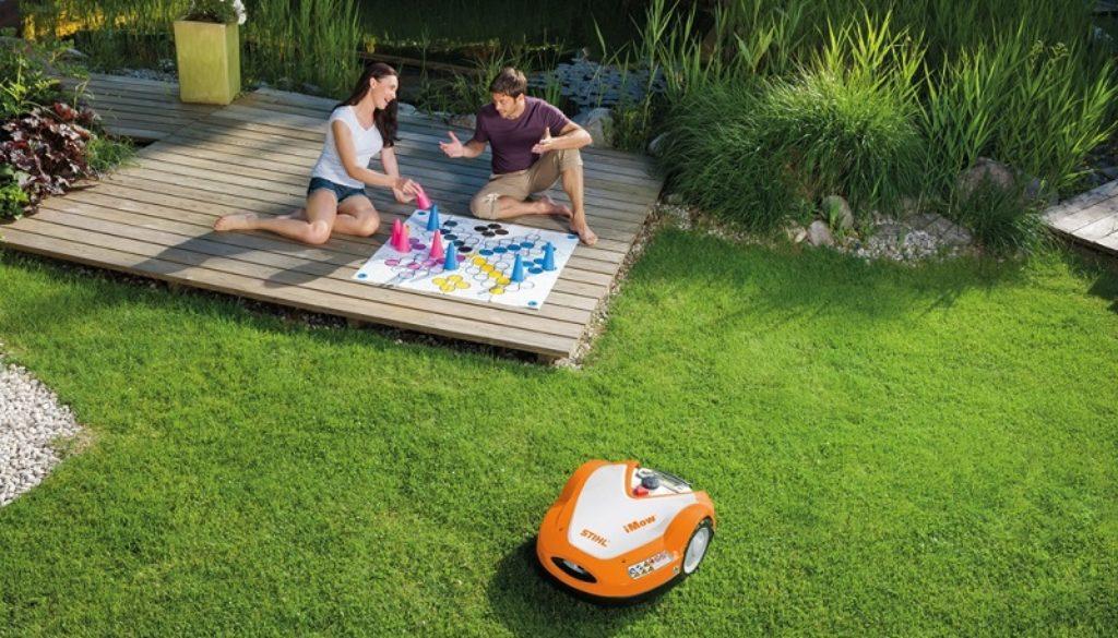 Robot-tondeuse-Stihl